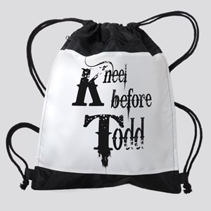 Kneel Before Todd 1 Drawstring Bag